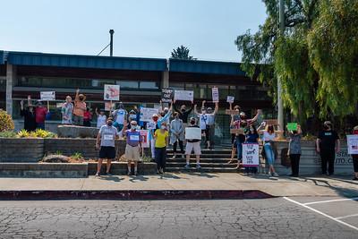 Save the USPS - Sausalito, CA August 22, 2020 - S Disenhof