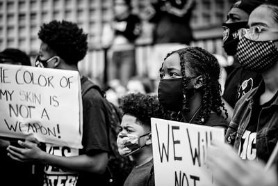© Stephanie Mohan 2020 Aug 29 BLM Protest against Racial Profiling in TiburonDSC_1757 copy