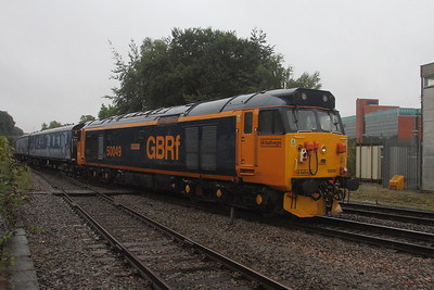 50049 Basingstoke 19/08/20 on the rear of 5Z50 Eastleigh to Leicester