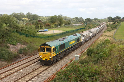 66546 Hungerford 25/08/20 6C74 Theale to Whatley