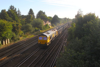 66701 Worting Junction 26/08/20 6O95 Arcow to Southampton Up Yard