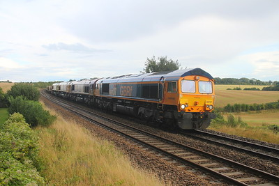 66737 Overton 28/08/20 6Y42 Hoo Junction to Eastleigh with 66089, 66786 and 66512