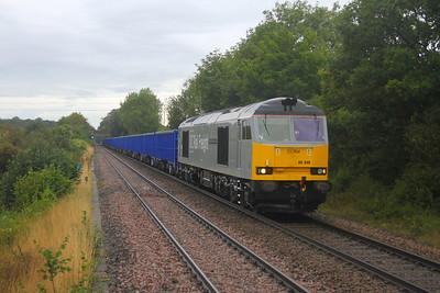 60046 Whitchurch 28/08/20 6Z93 Eastleigh to Willesden DC Rail Sidings