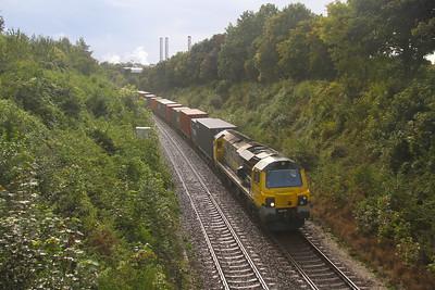 70010 Overton 28/08/20 4M99 Southampton to Crewe