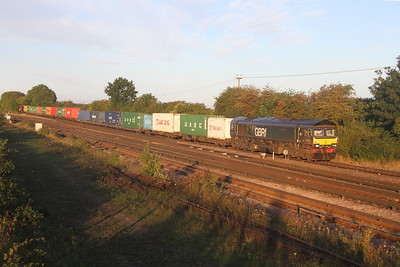 66779 Worting Junction 26/08//20 4E34 Southampton Western Docks to Doncaster Iport