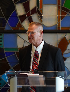 Amid the COVID-19 pandemic, the inauguration of Dr. William M. Downs as Gardner-Webb's 13th President is held in the chapel of Tucker Student Center on August 6th, 2020.
