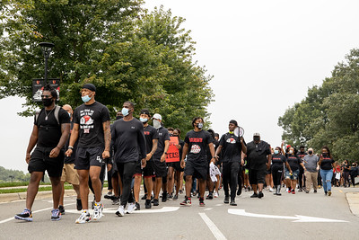 """""""Together As One"""" Community Protest. Gardner-Webb University student led walk to bring attention and educate the community on the inequality in the world. Walk was accompanied by students, teachers, faculty, and community members."""