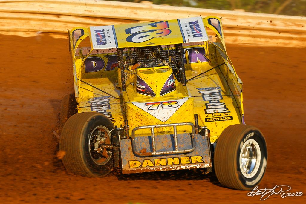 BAPS Motor Speedway - 78 Briggs Danner