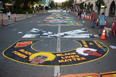 Palo Alto BLM Street Art