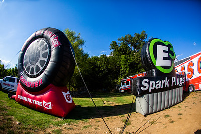 General Tire and E3 Spark Plugs ballons