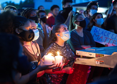 Leon_Kunstenaar_Oakland, Vigil and March to Mayor's House 6-10-2020