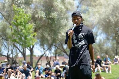 Jun 05 Protest in Los Altos, CA, against Police Violence