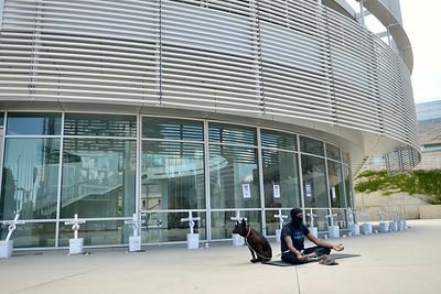 Jun 13 Peaceful Meditation Protest at San Jose City Hall