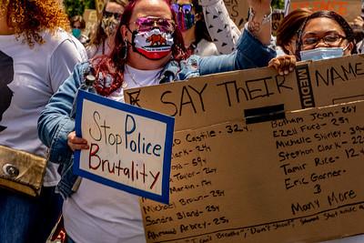 Silent March   Santa Rosa, Ca 6-13-2020 Bill Clark-2