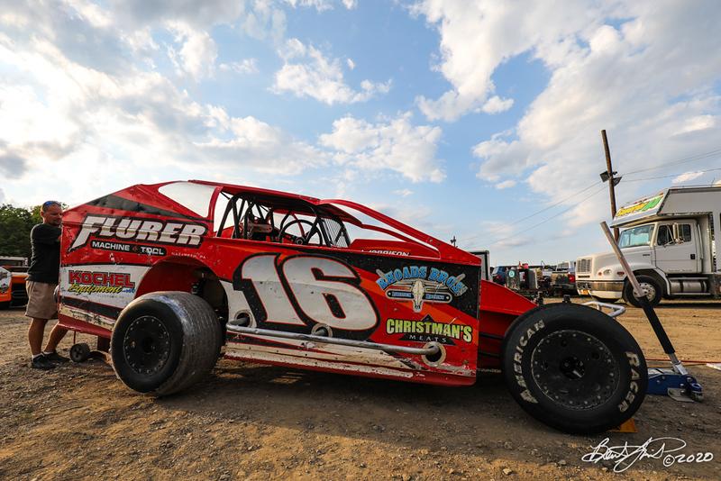 Jack Rich, Inc. Coalcracker 72 - Big Diamond Speedway - 16 Louden Reimert