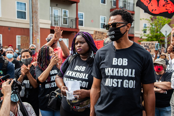 Bob KKKroll Must Go! Solidarity Rally for Justice
