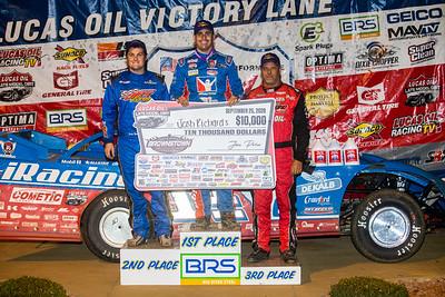 Ricky Thornton, Jr. (L), Josh Richards (C) and Earl Pearson, Jr. (R)