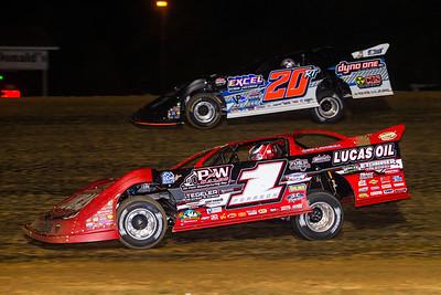 Earl Pearson, Jr. (1) and Ricky Thornton, Jr. (20RT)