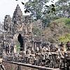 Bridge - Tole Om (South) Gate - Angkor Thom