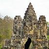 Tole Om (South) Gate - Angkor Thom