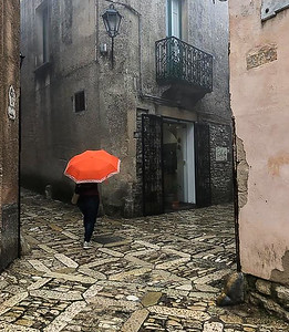 3rd - Rainy Day in Erice (Sicily)