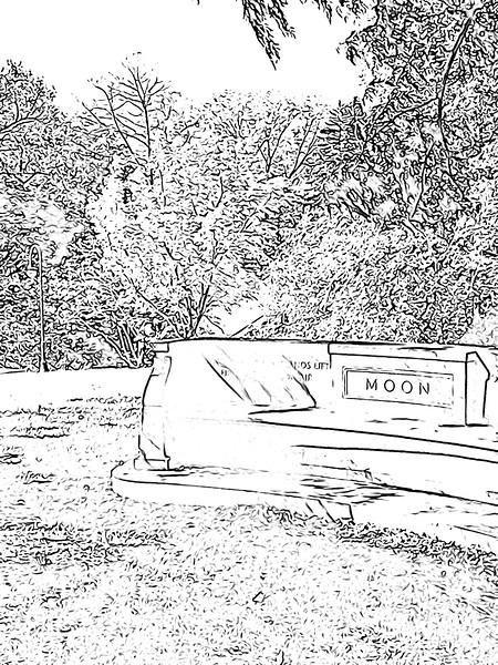 Moon Bench