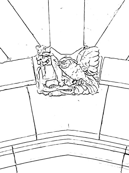 Rockefeller Hall Owls