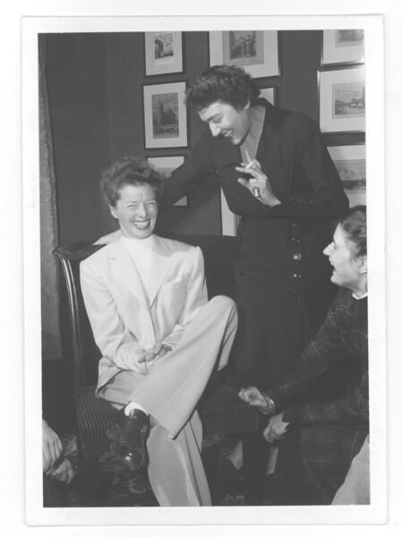 CAMPUS VISIT 1953