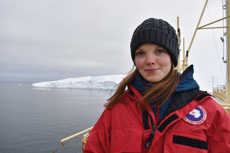 Rachel Clark '16, Sea Level Rise Researcher in the Antartic