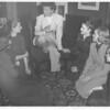 Katharine Hepburn CAMPUS VISIT 1953