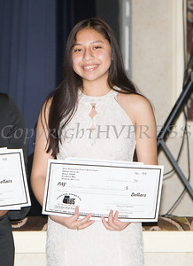 Jaslyn Martinez-Lopez received a scholarship award during the 22nd Annual Tuition Assistance Awards Celebration of the Major General Irene Trowell-Harris Chapter of the Tuskegee Airmen on Saturday, February 8, 2020 at Anthony's Pier 9 in New Windsor, NY. Hudson Valley Press/CHUCK STEWART, JR.