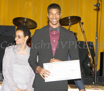 Kendall Scott received a scholarship award during the 22nd Annual Tuition Assistance Awards Celebration of the Major General Irene Trowell-Harris Chapter of the Tuskegee Airmen on Saturday, February 8, 2020 at Anthony's Pier 9 in New Windsor, NY. Hudson Valley Press/CHUCK STEWART, JR.