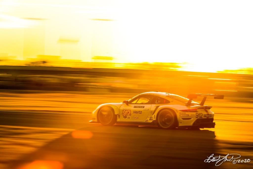Rolex 24 at Daytona - IMSA WeatherTech SportsCar Championship - Daytona International Speedway - 912 Porsche GT Team Porsche 911 RSR-19, Laurens Vanthoor, Earl Bamber, Mathieu Jaminet