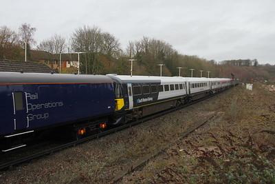 2413 Micheldever 14/12/20 5Q86 Wolverton to Bournemouth