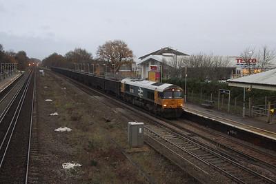 66789 Hook 14/12/20 4Y19 Mountfield to Southampton Western Docks