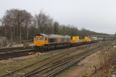 66708 Basingstoke 31/12/20 3Y88 Totton Yard to Totton Yard via Woking