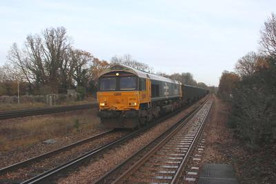 66789 Hook 17/12/20 4Y19 Mountfield to Southampton Western Docks