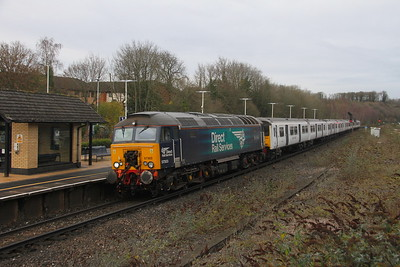 57303 Micheldever 04/12/20 5Q87 Ilford E.M.U.D. to Eastleigh with 317666 and 317503