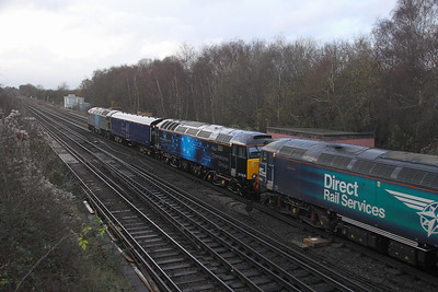 57305 Worting Junction 05/12/20 5M57 Eastleigh to Derby RTC