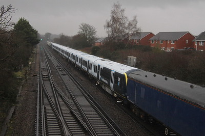 701015 Worting Junction 16/12/20 6X24 Derby Litchurch Lane to Eastleigh