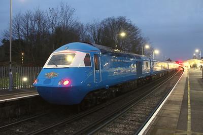43046 Basingstoke 09/12/20 5Z44 Eastleigh to Crewe Holding Sidings
