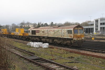 66721 Basingstoke 31/12/20 3Y88 Totton Yard to Totton Yard via Woking