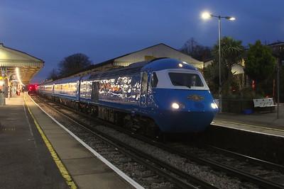 43055 Basingstoke 09/12/20 5Z44 Eastleigh to Crewe Holding Sidings