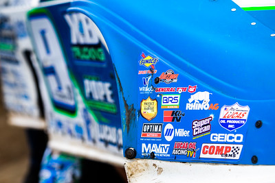 Lucas Oil Late Model Dirt Series nose piece decal