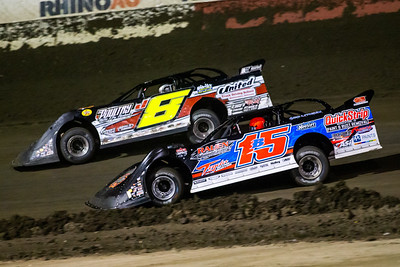 Brian Birkhofer (15B) and Jadon Frame (8J)