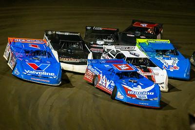 Josh Richards (14), Brandon Sheppard (1), Rick Eckert (0E), Shanon Buckingham (50), David Seibers (18), Blake Spencer (6) and Kyle Lear (000)