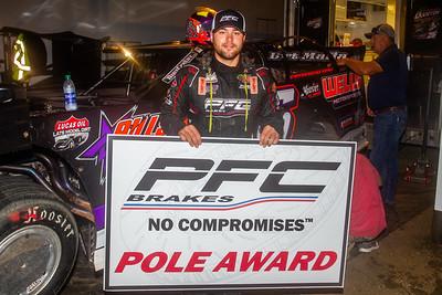 PFC Brakes Pole Award winner Brandon Overton