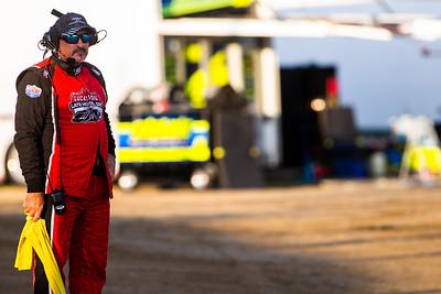 Lucas Oil Late Model Dirt Series official Wayne Castleberry