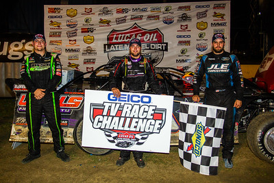 Tyler Erb (L), Brandon Overton (C) and Mason Zeigler (R)
