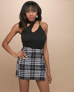 Plaid Skirt-4